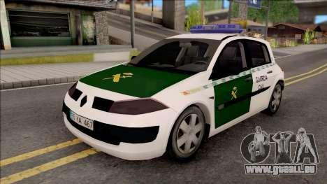 Renault Megane Guardia Civil Spanish pour GTA San Andreas
