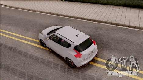 Nissan Juke Nismo RS 2014 v2 pour GTA San Andreas vue arrière