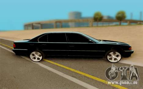 BMW 750 für GTA San Andreas linke Ansicht