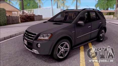 Mercedes-Benz ML 63 AMG 2009 pour GTA San Andreas