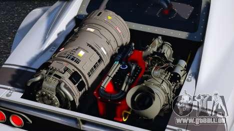 GTA 5 Dodge Charger Fast & Furious 8 Rückansicht