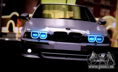 BMW M5 E39 (2017 re-styling) für GTA San Andreas rechten Ansicht