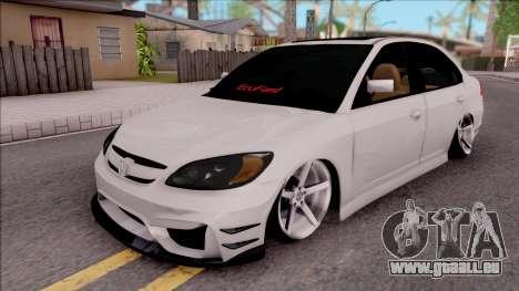 Honda Civic E.K MODS pour GTA San Andreas