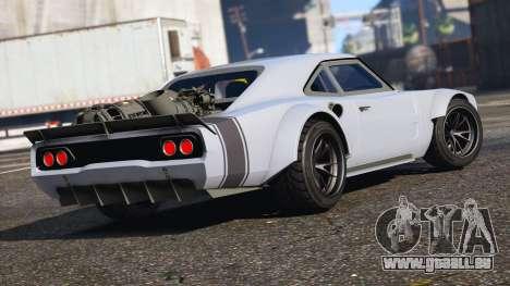 GTA 5 Dodge Charger Fast & Furious 8 linke Seitenansicht
