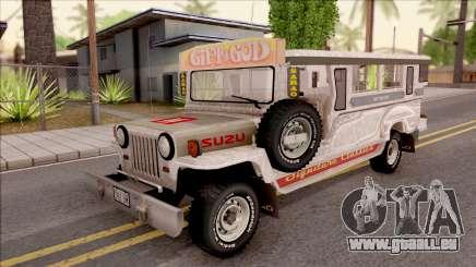 Jeepney Burrito v2 für GTA San Andreas