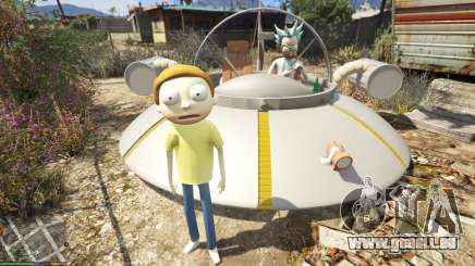 Morty Smith (Rick and Morty) [Add-On] 1.1 pour GTA 5