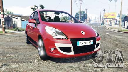Renault Scenic (JZ) 2009 [replace] pour GTA 5