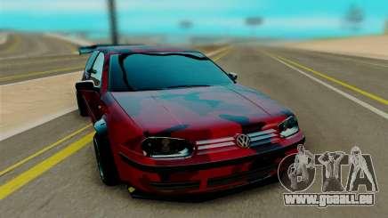 Volkswagen Golf IV pour GTA San Andreas