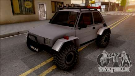 Fiat 126p Buggy pour GTA San Andreas