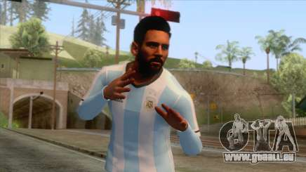 Messi Argentina Skin pour GTA San Andreas