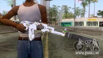 CoD: Black Ops II - AK-47 Kawaii Skin v2 pour GTA San Andreas