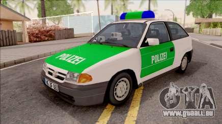 Opel Astra F Polizei pour GTA San Andreas