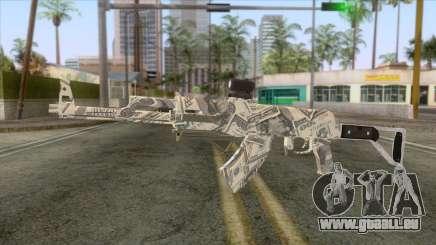 CoD: Black Ops II - AK-47 Benjamin Skin v1 für GTA San Andreas