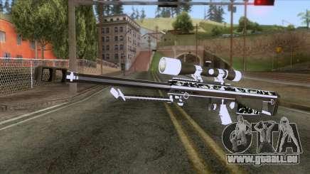 De Armas Cebras - Sniper Rifle für GTA San Andreas