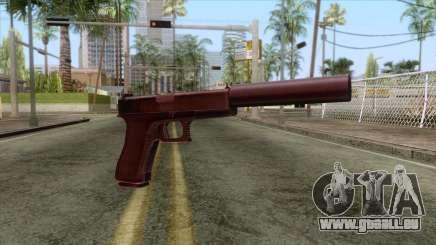 Glock 17 Silenced v1 für GTA San Andreas