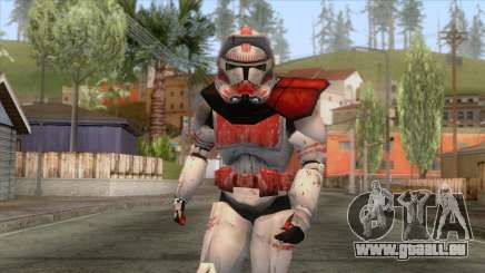 Star Wars JKA - Clone Shock Trooper Skin 2 pour GTA San Andreas