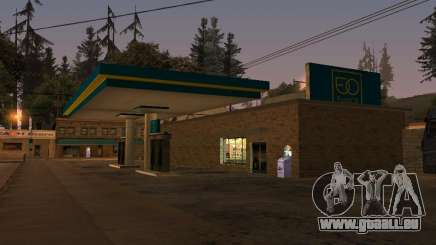 EuroOil Gas Station für GTA San Andreas