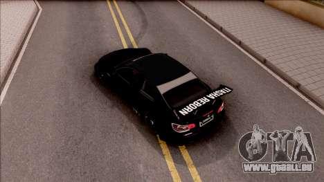 BMW M3 GT2 Itasha Mash Kyerlight Fate Apocrypha für GTA San Andreas Rückansicht