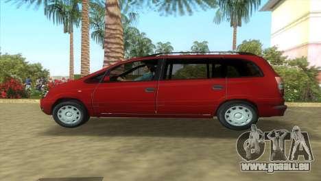 Opel Zafira 2.2DTI für GTA Vice City linke Ansicht