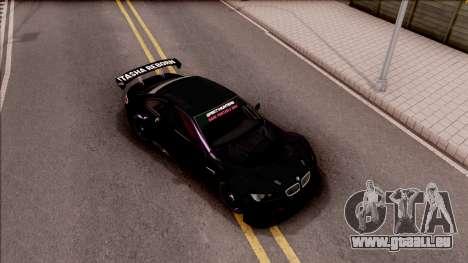 BMW M3 GT2 Itasha Mash Kyerlight Fate Apocrypha für GTA San Andreas rechten Ansicht