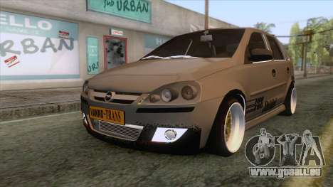 Opel Corsa Stance pour GTA San Andreas