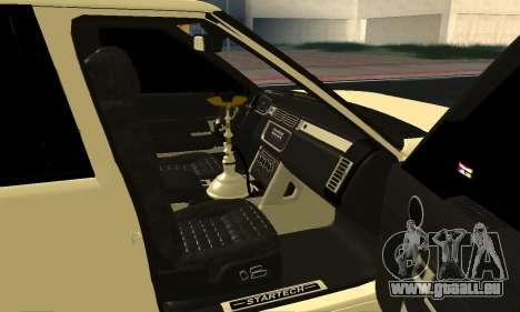 Range Rover Vogue Armenian pour GTA San Andreas vue intérieure