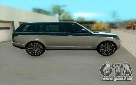 Land Rover Range Rover SVA pour GTA San Andreas
