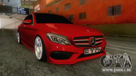 Mercedes-Benz C250 Stance pour GTA San Andreas