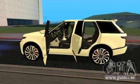 Range Rover Vogue Armenian pour GTA San Andreas vue de côté