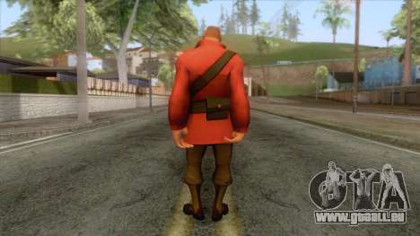 Team Fortress 2 - Soldier Skin v2 für GTA San Andreas