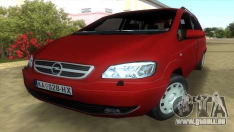 Opel Zafira 2.2DTI für GTA Vice City