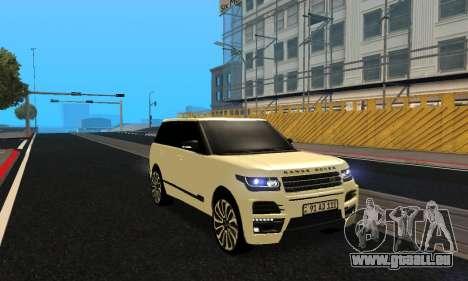 Range Rover Vogue Armenian pour GTA San Andreas