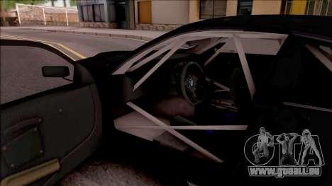 BMW M3 GT2 Itasha Mash Kyerlight Fate Apocrypha für GTA San Andreas Innenansicht