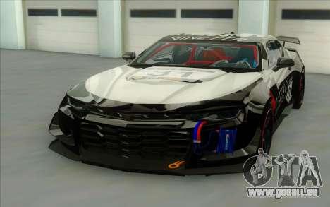 Chevrolet Camaro ZL 1 für GTA San Andreas