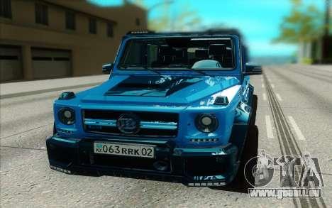 Mercedes-Benz G63 Brabus für GTA San Andreas