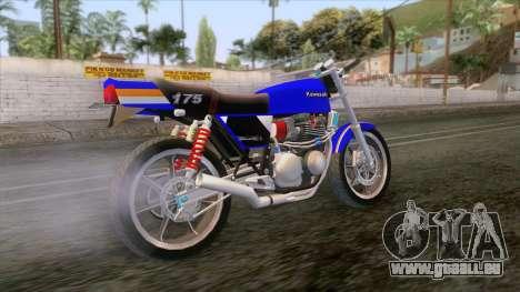 Kawasaki Barako 175 pour GTA San Andreas vue de droite