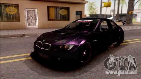 BMW M3 GT2 Itasha Mash Kyerlight Fate Apocrypha für GTA San Andreas