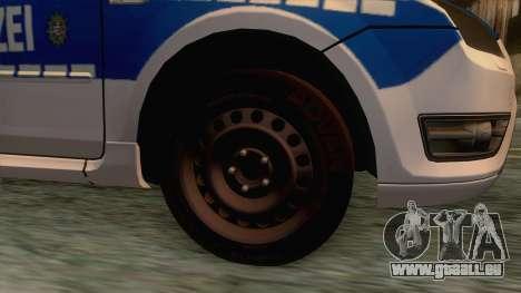 Ford Focus ST Polizei Hessen pour GTA San Andreas vue arrière