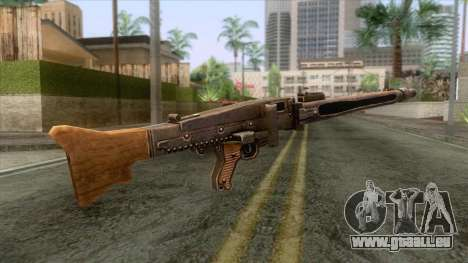 MG-42 General-Purpose MG für GTA San Andreas dritten Screenshot
