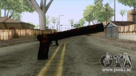 Glock 17 Silenced für GTA San Andreas zweiten Screenshot