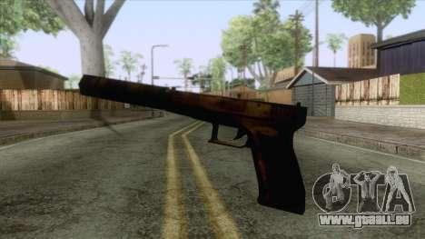 Glock 17 Silenced für GTA San Andreas dritten Screenshot