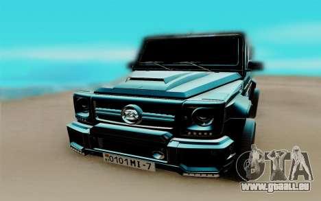 Mercedes-Benz G63 AMG pour GTA San Andreas