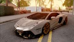 Lamborghini Aventador Liberty Walk 2012 pour GTA San Andreas