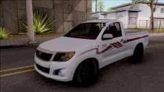 Toyota Hilux 2 Door GLX 2013 pour GTA San Andreas