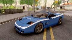 GTA IV Invetero Coquette Spyder pour GTA San Andreas