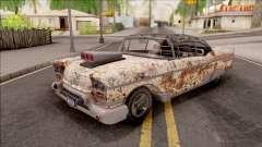 Chevrolet Impala Sport Coupe V8 RUST 1958 pour GTA San Andreas