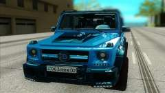 Mercedes-Benz G63 Brabus pour GTA San Andreas