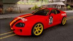 Toyota Supra Drift Falken Germany für GTA San Andreas