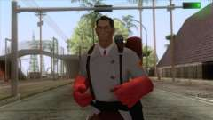 Team Fortress 2 - Medic Skin v2 pour GTA San Andreas