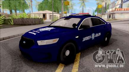 Ford Taurus 2013 Mexican Police pour GTA San Andreas